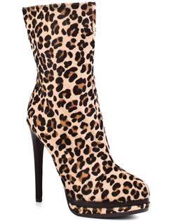 Carlotta - Leopard Kelsi Dagger leopard print boots