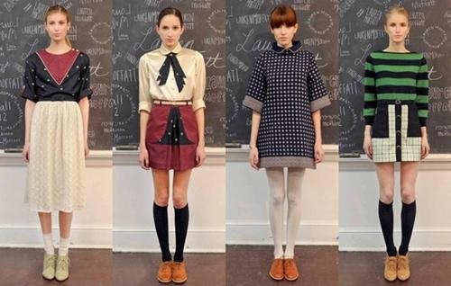 Fall 2012 Trend Alert Back to School Looks