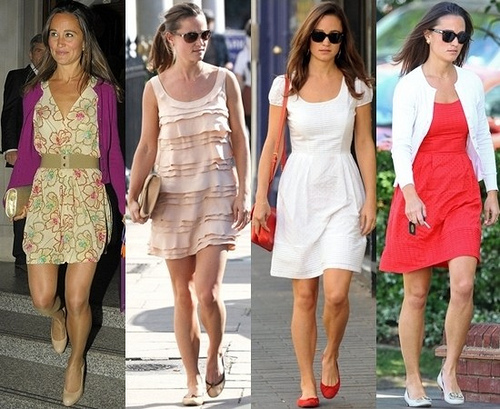 How Pippa Middleton Wears dresses for Summer