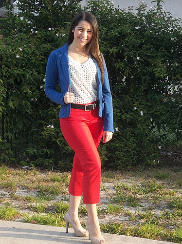 What I Wear for Spring and Summer #3: Bold Color Combos for Work