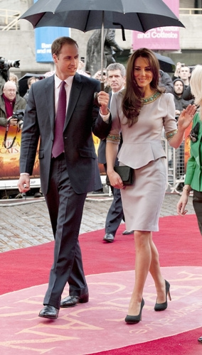 kate middleton´s peplum dress