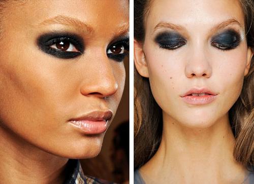 summer 2012 makeup trend - dramatic