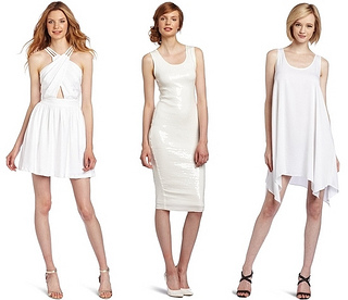 white summer dresses trend