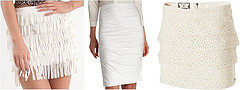 white summer skirts trend