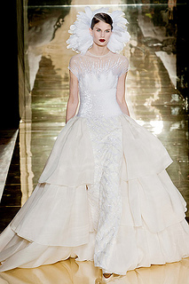 Georges Chakra couture fall 2012 wedding dress