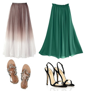 Long (Ankle Length) Skirts