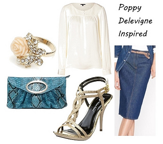 Poppy Delevigne Outfit at Couture Fashion Week