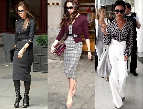 Victoria Beckham Work Outfits
