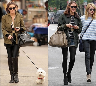 how to wear military jacket with buckle belt