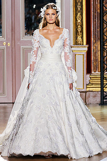 zuhair murad couture fall 2012 wedding dress
