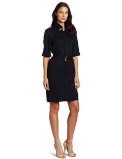 Working Dress - Anne Klein Womens Shirt Dress With Sash