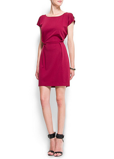 Working Dress - Mango Womens Open Shoulder Dress