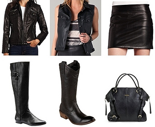 back to school trend leather