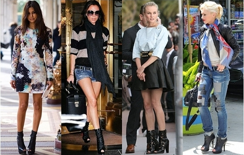 how to wear the peep-toe boots