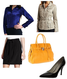 how to wear women safari jacket to the office