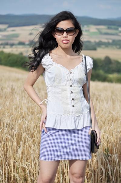peplum top outfit