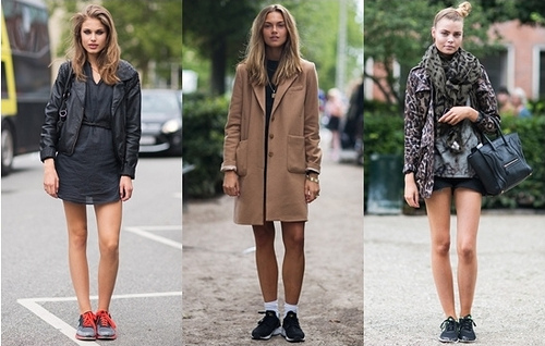 Street Style Update: How to Gorgeously Wear Running Shoes
