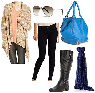 Diana Agron outfit for travel