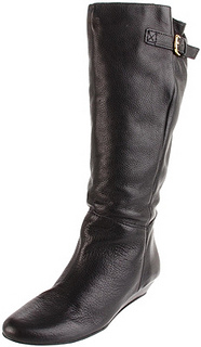 STEVEN by Steve Madden Womens Intyce Riding Boot black