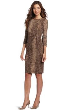 Work dress - Anne Klein Womens Long Sleeve Dress