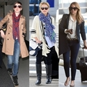 4 Airport Chic Outfits: What to Wear to Long Flights