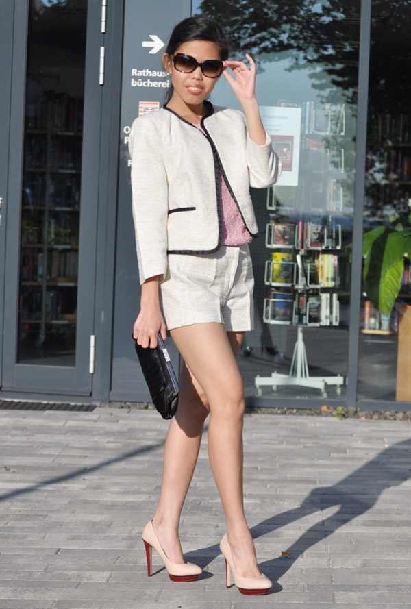 79d2bb32a0ee My Outfit: The Shorts Suit for Women | Creative Fashion