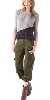 how to wear cargo pants with style