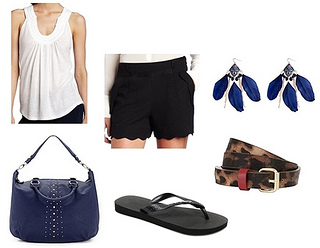 how to wear flip flop outfit2