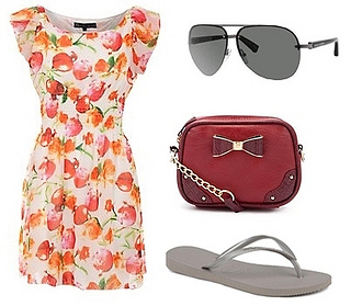 how to wear flip flop outfit3
