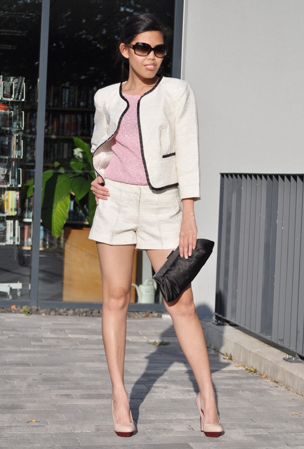 how to wear shorts suit