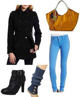 how to wear trench coat in winter