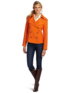 Anne Klein Women's Pea Coat