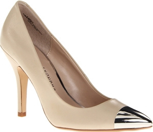 Chinese Laundry Nude Cap Toe Pumps