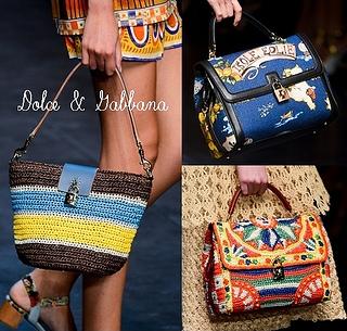 Dolce Gabbana Spring 2013 Best handbags