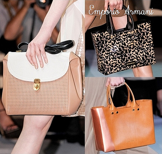 Emporio Armani Spring 2013 Best handbags