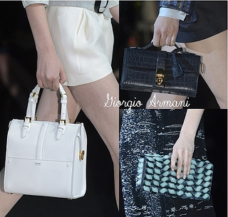 Giorgio Armani Spring 2013 Best Handbags