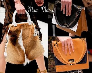 Max Mara Spring 2013 Best handbags