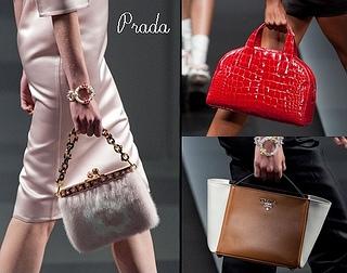 Prada Spring 2013 Best handbags