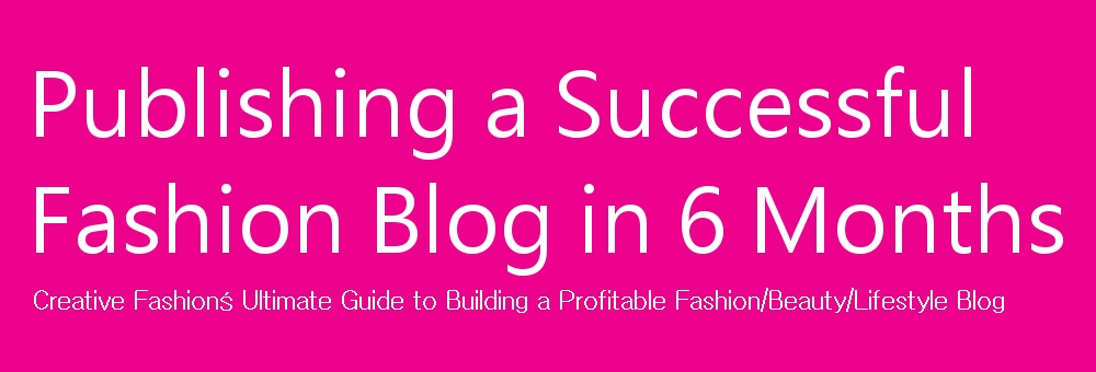 how to build a fashion blog