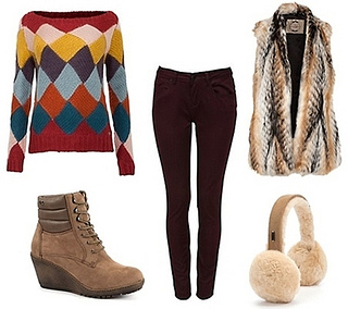 Chalet Girl Inspiration Ski Chic Outfit