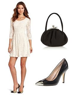 Womens Fuzzy Lace Dress