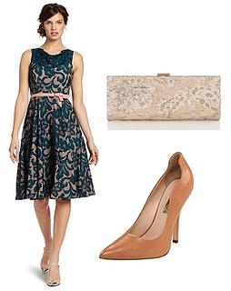 Womens Zena Lace Dress