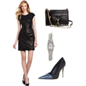How to Wear the Leather Dress Trend
