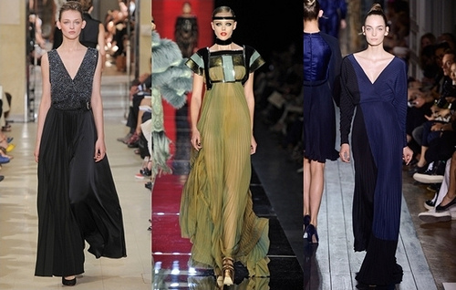 How to Wear Pleated Dress