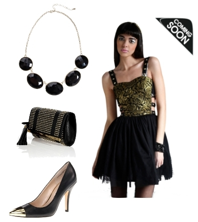 Side Straps Tutu Dress Party Outfit