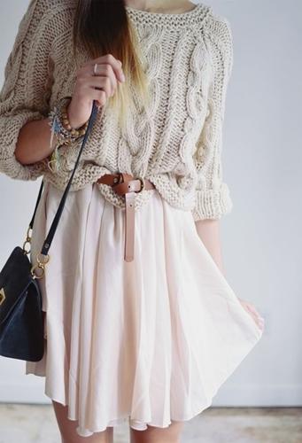 beige dress for boho style