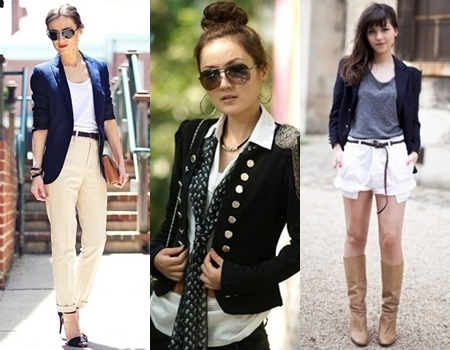 how to wear blazer for women