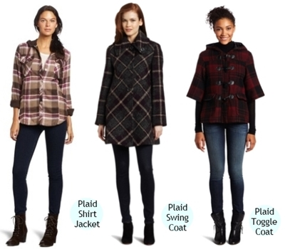 plaid Jacket and Coats for Women