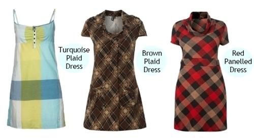 plaid dresses for women spring 2013 trend