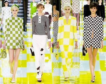 plaid print louis vuitton spring trend 2013